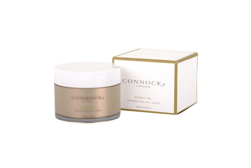 Connock London Kukui Oil Hawaiian Sea Salt Scrub