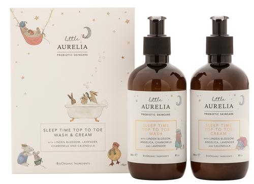 Aurelia Sleep Time Top to Toe Wash & Cream