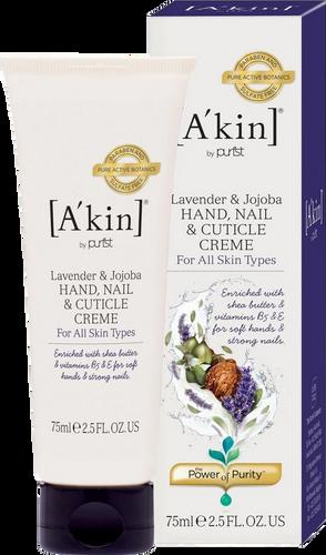 A'kin Lavender, Geranium & Jojoba Hand, Nail & Cuticle Créme