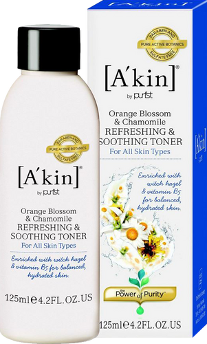 A'kin Orange Blossom & Chamomile Refreshing & Soothing Toner