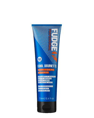 Fudge Cool Brunette Blue Toning Shampoo - 250ml