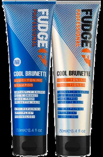 Fudge Cool Brunette Blue Toning Duo - 2 x 250ml