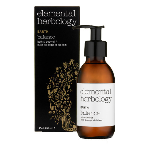 Elemental Herbology Earth Balance Bath and Body Oil - 145ml