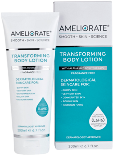 Ameliorate Fragrance Free Transforming Body Lotion