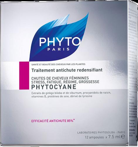 Phyto PhytoCyane Treatment Serum For Thinning Hair - 12 x 7.5ml