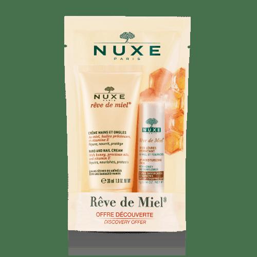 Nuxe Reve de Miel Hand & Lip bundle
