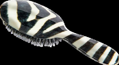 Rock & Ruddle Zebra Hairbrush