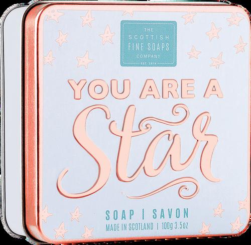 Scottish Fine Soaps You Are a Star Soap in a Tin