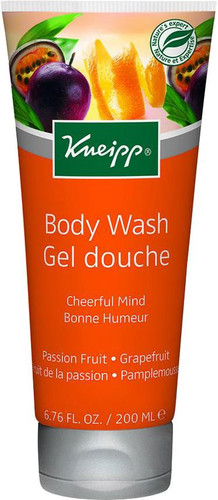 Kneipp Cheerful Mind Passion Fruit Grapefruit Body Wash - 200ml