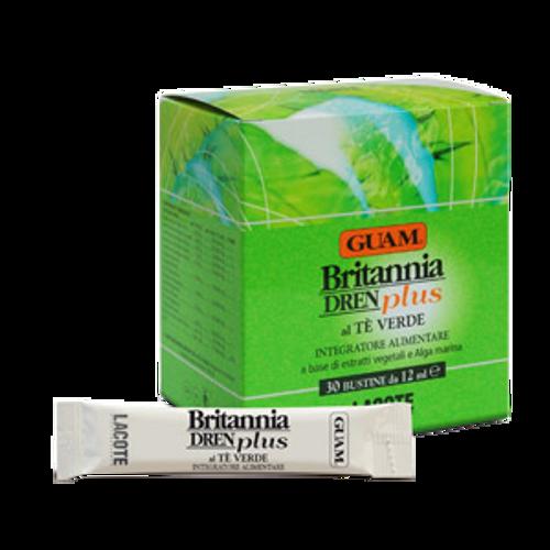 Guam Britannia Dren Plus Green Tea