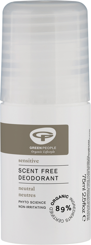 Green People Neutral Scent Free Deodorant - 75ml