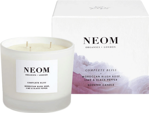 Neom Scented Candle - Complete Bliss - Luxury (3 Wick)