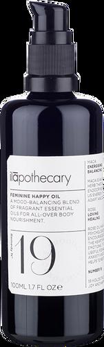 ilapothecary Formula No. 19: Feminine Happy Body Oil