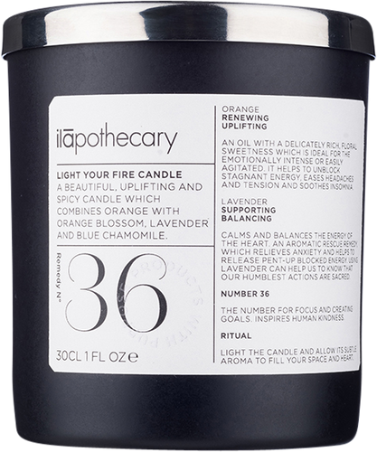 ilapothecary Formula No. 36: Light Your Fire Candle