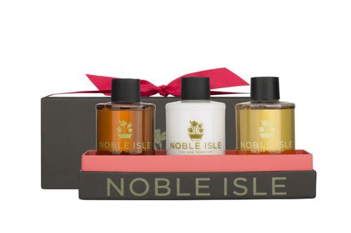 Noble Isle Warm Woody Trio - 3 x 75ml