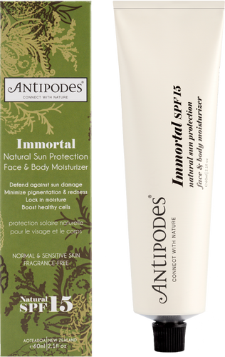Antipodes Immortal Natural Sun Protection SPF15