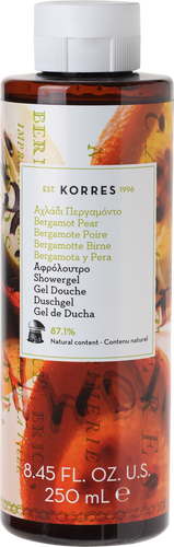 Korres Bergamot Pear Showergel - 250ml