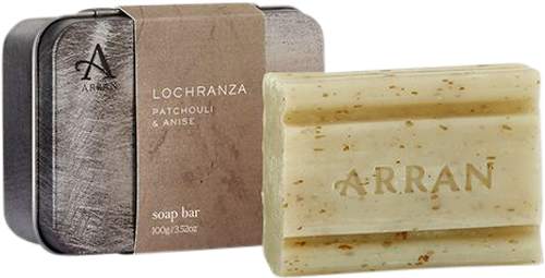 Arran Sense of Scotland Lochranza Tinned Soap - 100g