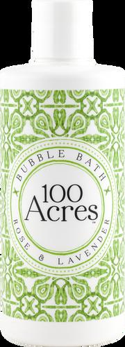 100 Acres Rose & Lavender Bubble Bath