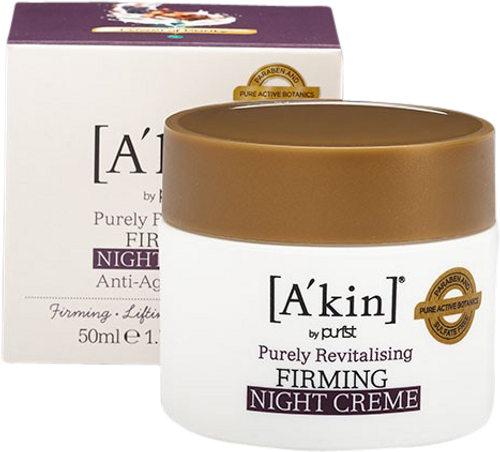 A'kin Pure Revitalising Firming Night Creme - 50ml