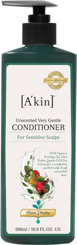 A'kin Unscented Very Gentle Conditioner