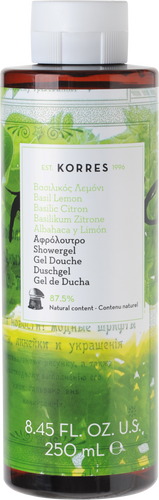 Korres Basil Lemon Showergel - 250ml