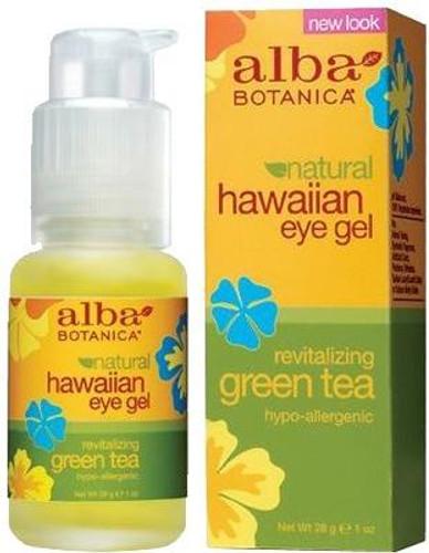 Alba Botanica Natural Hawaiian Eye Gel Revitalizing Green Tea