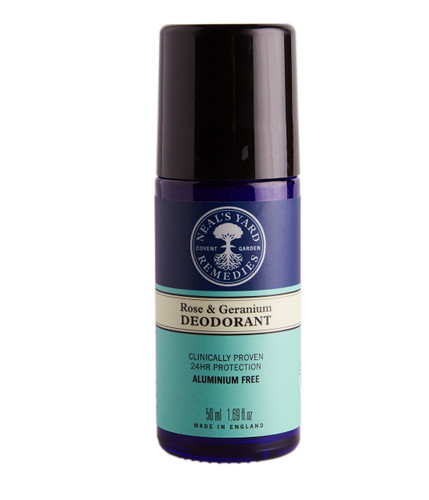 Neal's Yard Remedies Rose & Geranium Roll On Deodorant