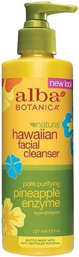 Alba Botanica Natural Hawaiian Pineapple Enzyme Facial Cleanser