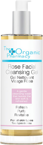 The Organic Pharmacy Rose Facial Cleansing Gel - 100ml