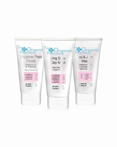 The Organic Pharmacy Skin Treat Mask Trio > Free Gift