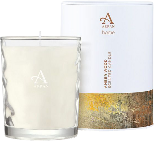 Arran Sense of Scotland Amberwood Candle