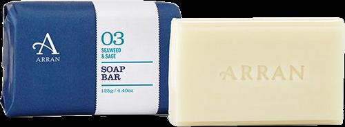 Arran Sense of Scotland Apothecary Seaweed & Sage Soap - 125g