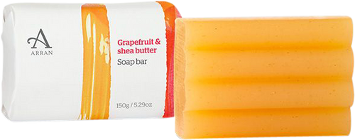 Arran Sense of Scotland Formulas Grapefruit & Shea Butter Soap