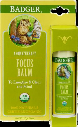 Badger Balm Focus Balm