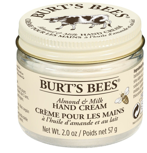 Burt's Bees Almond Milk Beeswax Hand Crème - 57g