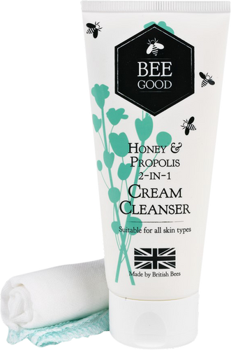 Bee Good Honey & Propolis 2 in 1 Cleanser & Cloth - 100ml