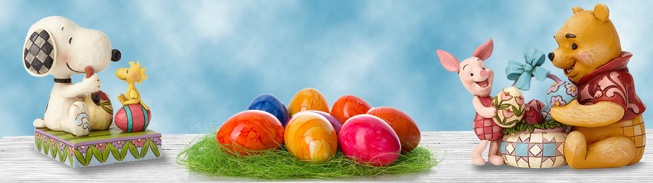 Fun Easter and Springtime Figurines and Decor