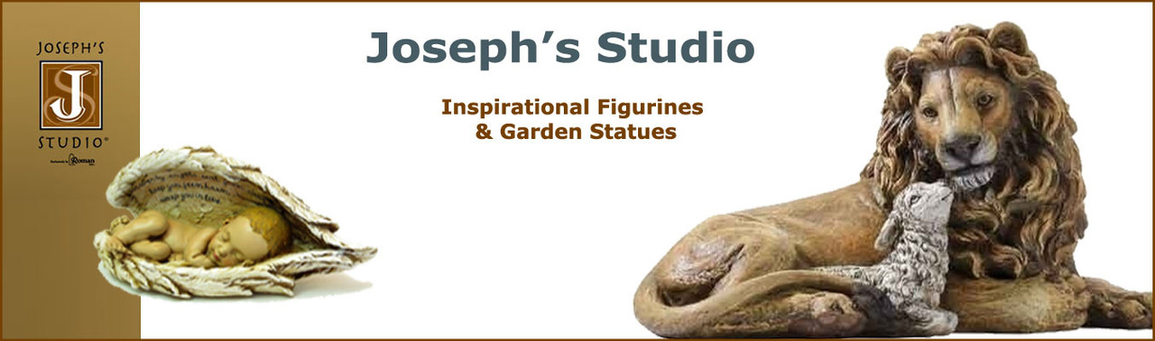 Shop for religious and Inspirational figurines, collectibles from our Joseph's Studio collection