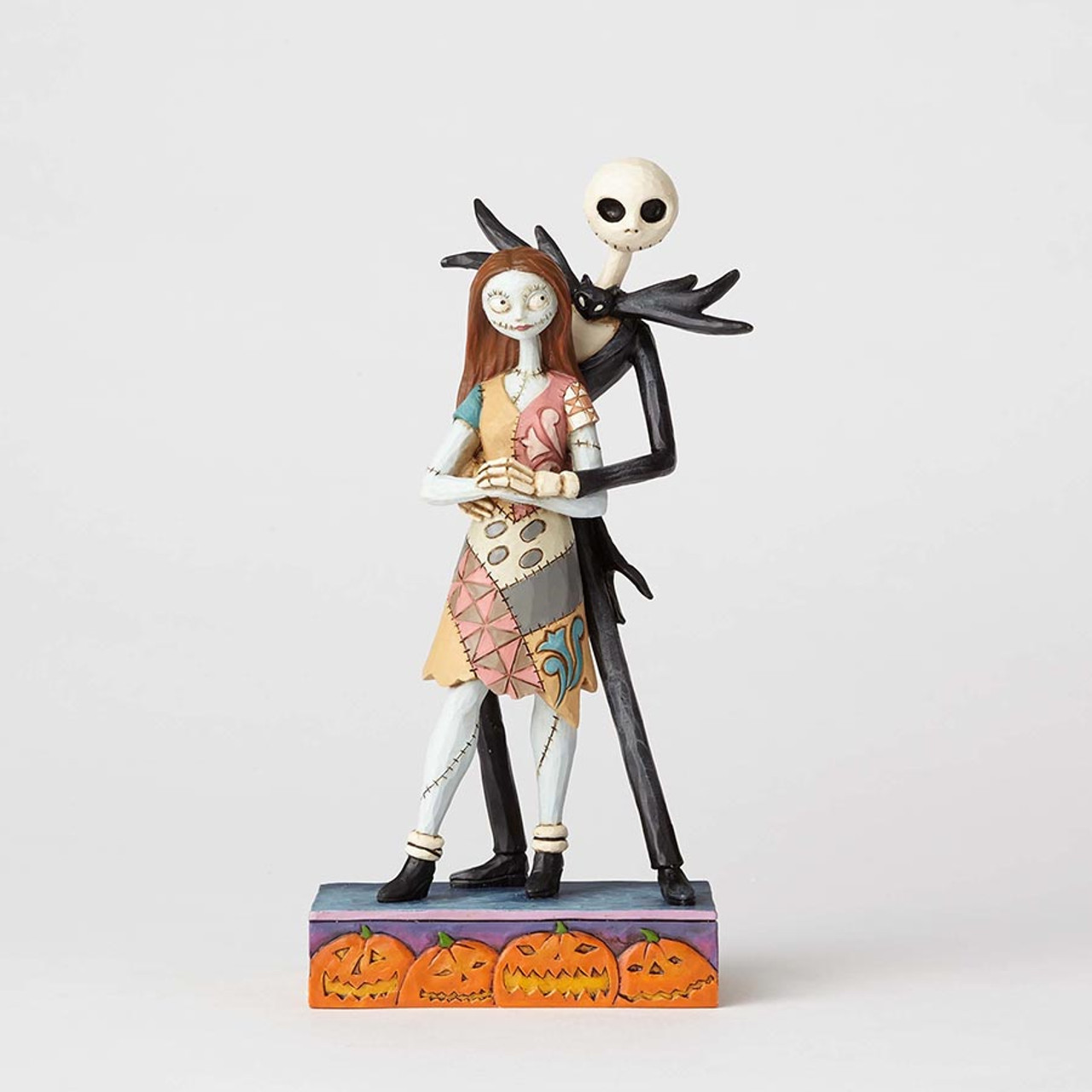 Tim Burton Nightmare Before Christmas Jack And Sally.Jack Skellington And Sally Figurine Nightmare Before Christmas