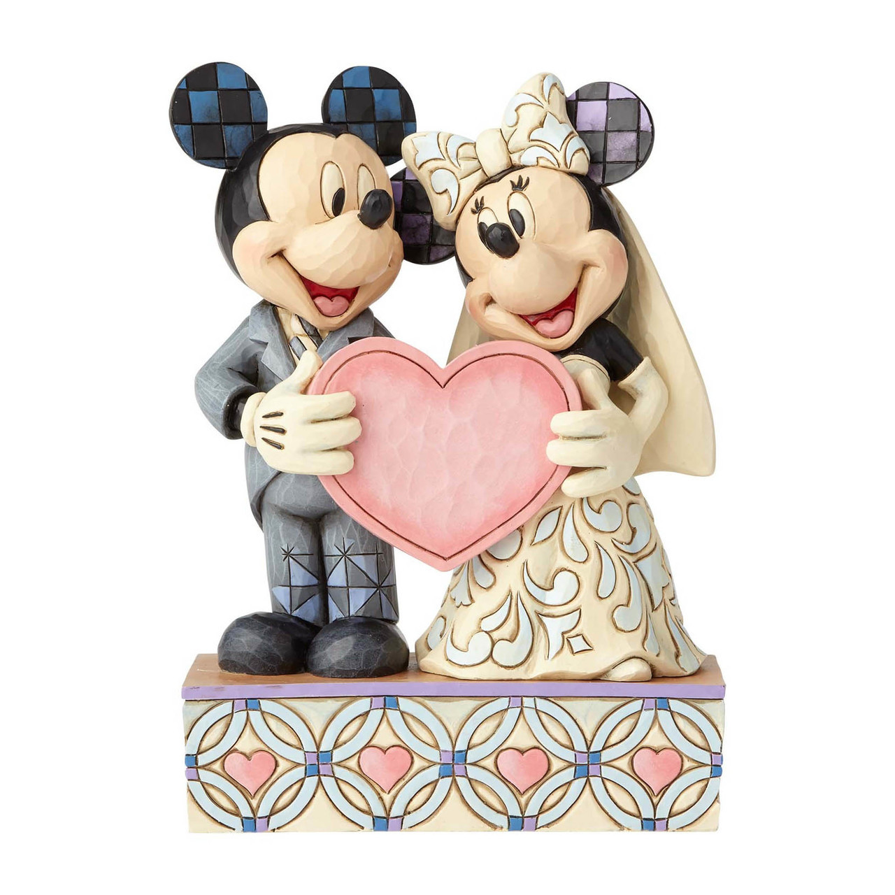 Mickey And Minnie Mouse Wedding Figurine Jim Shore Disney