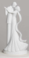 Porcelain wedding cake topper, To Have and To Hold