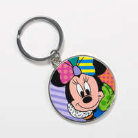 Minnie Mouse Round Keychain by Britto