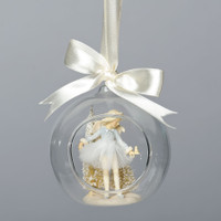 Ballerina in Glass Dome ornament by Foundations