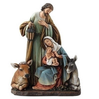 Holy Family Christmas Nativity figurine by Joseph's Studio.