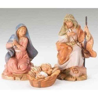 "Fontanini Holy Family Nativity set - 5"" scale"