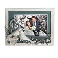 Doves Wedding Photo Frame