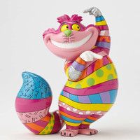 Cheshire Cat figurine from Disney by Britto