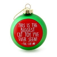 Meowy Catmas Cat Toy Ornament