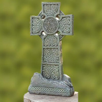 Celtic Cross Garden Statue